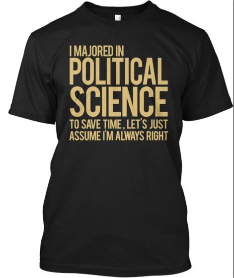 Political Science shirt copy