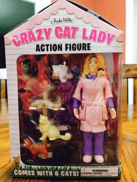 Cat Lady Action Figure copy
