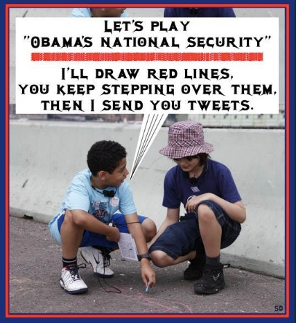 Obama's national securuty copy