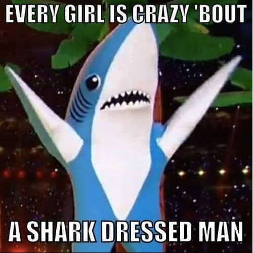 Shark Dressed Man copy