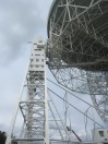 The lovell telescope from the side