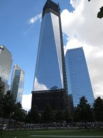 The freedom tower and world trade center 7