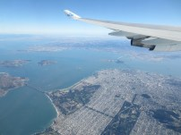 San Francisco from the plane