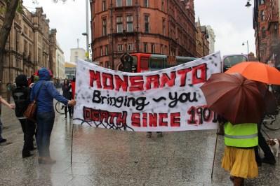 March against monsanto nottingham 3
