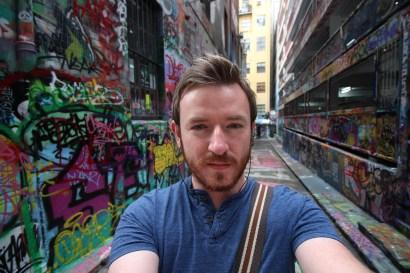 graffiti street in melbourne