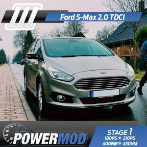 chiptuning ford smax 180ps