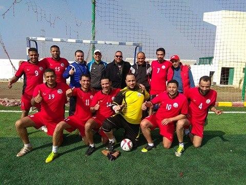 فريق مصر للبترول يكتسح ايجاس بثلاثيه نظيفة بدوري قطاع البترول