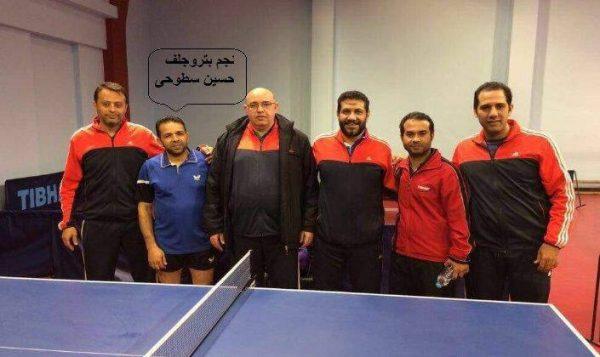 فريق تنس الطاولة بشركة بتروجلف مصر يفوز على معمل طنطا فى دورى قطاع البترول