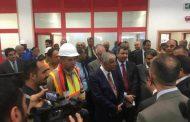 تأكيدا لانفراد باور نيوز ..بالصور وزير النفط العراقي يفتتح مشروع تطوير حقل السيبة العراقى