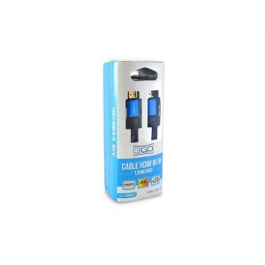 CABLE 3GO HDMI M-M 1.8M V2.0