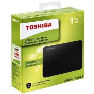 DISCO DURO EXTERNO 2.5″ 1TB TOSHIBA CANVIO BASIC USB 3.0