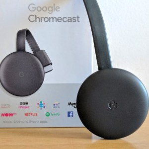 Google Chromecast 3 Miracast Negro Powerocasion