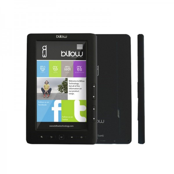 E-BOOK BILLOW COLOR BOOK 7″ 4GB TFT BLACK