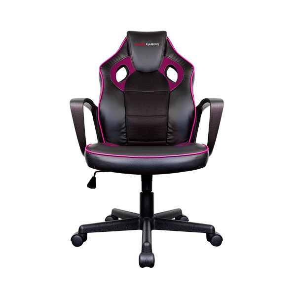 SILLA GAMER MARS GAMING MGC0BP NEGRA-MORADA