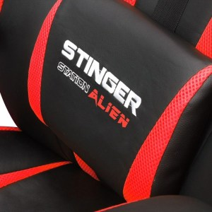SILLA GAMER WOXTER STINGER ALIEN ROJA GM26-055