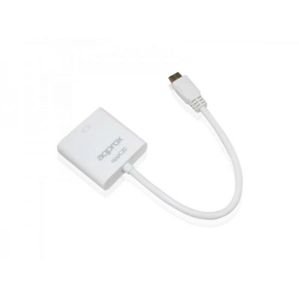ADAPTADOR APPROX MINI HDMI A VGA APPC20