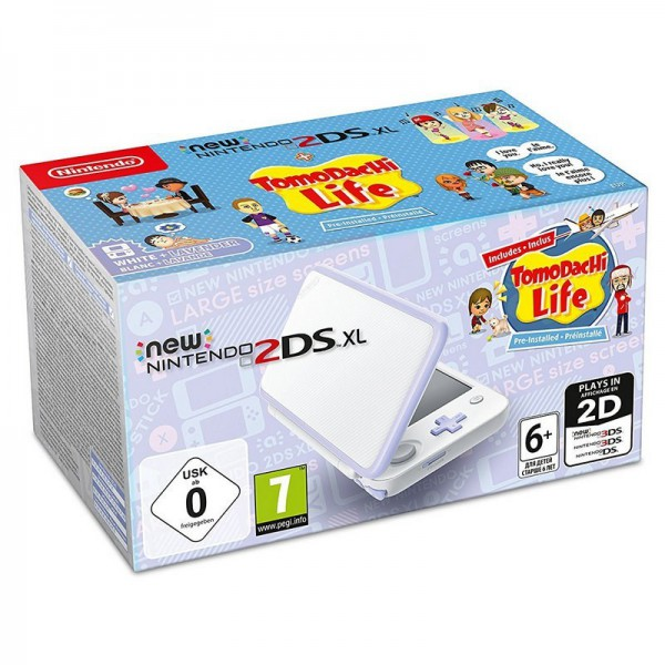 CONSOLA NINTENDO NEW 2DS XL + TOMODACHI LIFE