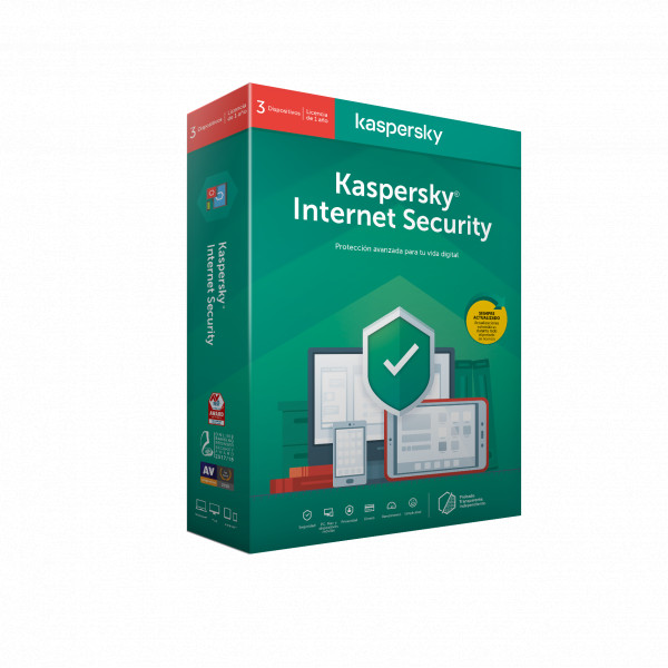 ANTIVIRUS KASPERSKY 2020 3 US INTERNET SECURITY