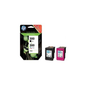 CARTUCHO HP 300 CN637EE PACK NEGRO Y COLOR