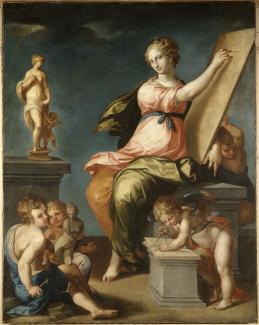 Ambroise_Dubois_1543-1614_Allegorie_de_la_Peinture_et_de_la_Sculpture.