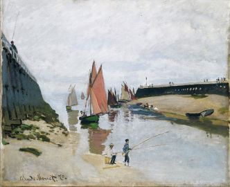 Claude_Monet,_1870,_Le_port_de_Trouville_(Breakwater_at_Trouville,_Low_Tide),_oil_on_canvas,_54_x_65.7_cm,_Museum_of_Fine_Arts,_Budapest