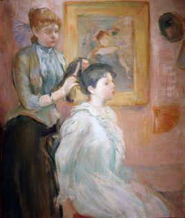La_Coiffure_-_Berthe_Morisot