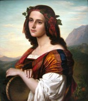 Amalie_Bensinger_Portrait_einer_Italienerin