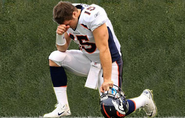 Tim Tebow to Remain in Relentless Pursuit