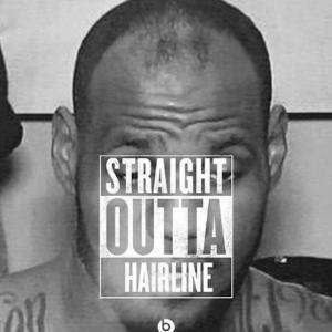 Lebron James, hairline looking a little weak.