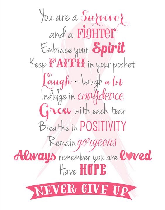 Quotes About Cancer Amazing 48 Special Breast Cancer Quotes Slogans And Sayings