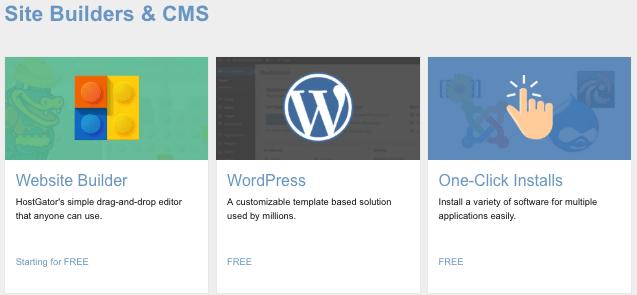 wordpress one click Install