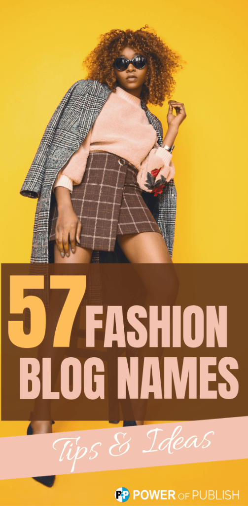 fashion blog names