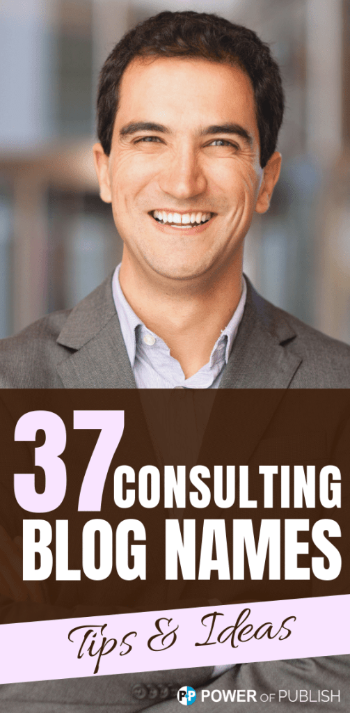 consulting blog names