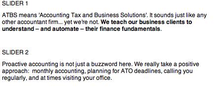accountants slider