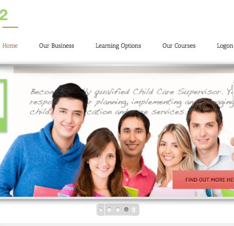 Childcare Training Landing Page Copywriting