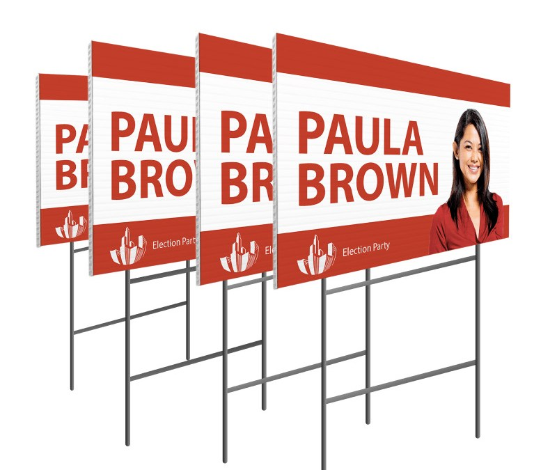 Coroplast Yard Signs – How Effective Are Yard Signs?