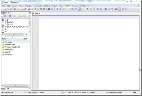 Notepad++ and DAX - Guest Post from Colin Banfield