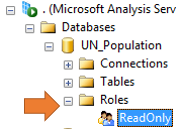 Creating ReadOnly Role