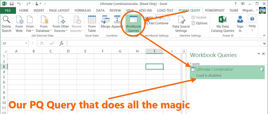 Find your Workbook queries