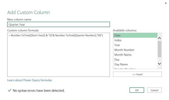 Create a Custom Calendar in Power Query - PowerPivotPro