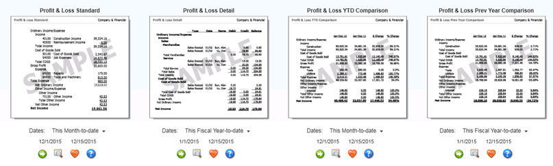 Quickbooks Built In Reports Leave a Lot to be Desired Compared to Power Pivot and Power BI