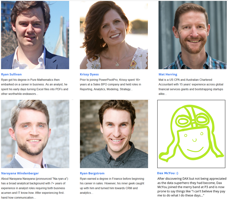 Power BI and Power Pivot Job Opportunities Found These Wonderful People - Now Let the Same Find You :)