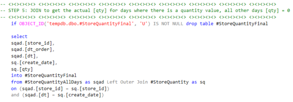 SQL Step 5