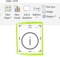 Info Box Step 1 - Add Button