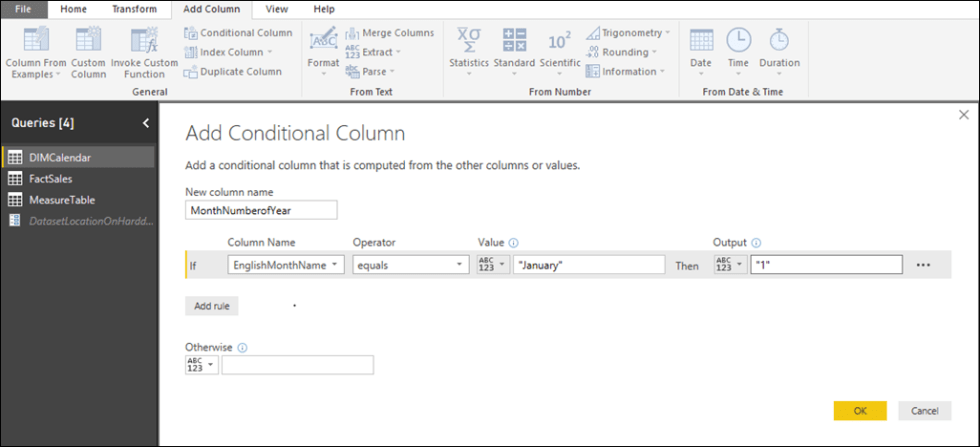 Sort By Columns ALL - Add Conditional Column