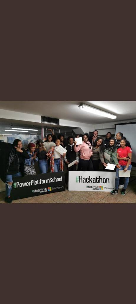 Power Platform School Hackathon - Year 1 Group Photo