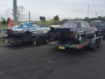 Mazda RX7 and Torana