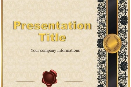 Certificate Free Powerpoint Template Download free Certificate PowerPoint templates