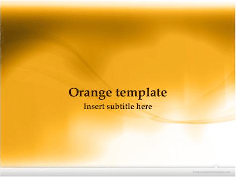 Orange PowerPoint Background Orange PowerPoint Backgrounds