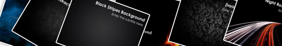 Black PowerPoint Backgrounds Home